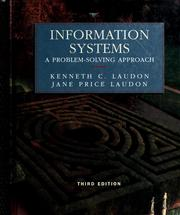 Cover of: Information systems: a problem-solving approach