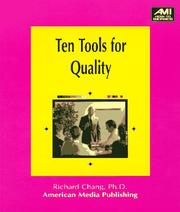 Cover of: Ten tools for quality