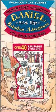 Cover of: Daniel and the Babylon Adventure: Sticker Story Adventures