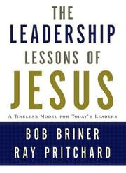 Cover of: Leadership Lessons of Jesus