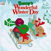 Cover of: Barney's wonderful winter day