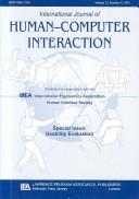 Cover of: Usability Evaluation