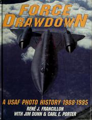 Cover of: Force drawdown