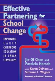 Cover of: Effective Partnering for School Change