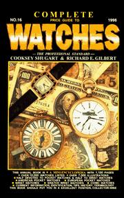Cover of: Complete Price Guide to Watches (Complete Price Guide to Watches, 1996, No 16)