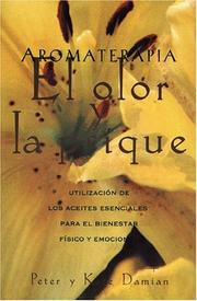 Cover of: Aromaterapia