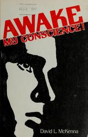 Cover of: Awake, my conscience