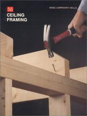 Cover of: Ceiling Framing (Basic Carpentry Skills)