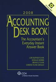 Cover of: Accounting Desk Book with CD (2008) (Accounting Desk Book)
