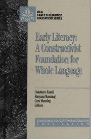 Cover of: Early literacy