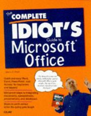 Cover of: The complete idiot's guide to Microsoft Office