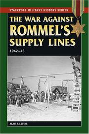 Cover of: The War Against Rommel's Supply Lines, 1942-43 (Stackpole Military History Series)