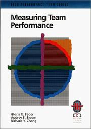 Cover of: Measuring team performance