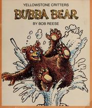 Cover of: Bubba Bear