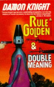 Cover of: Rule Golden / Double Meaning (Tor Double)