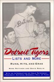 Cover of: Detroit Tigers Lists and More