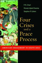 Cover of: Four Crises and a Peace Process