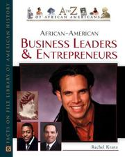 Cover of: African-American business leaders and entrepreneurs