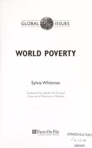 Cover of: World Poverty (Global Issues)