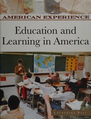 Cover of: Education and Learning in America