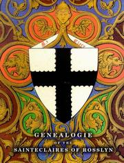 Cover of: The Genealogie of the Sainteclaires of Rosslyn