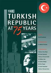 Cover of: The Turkish Republic at Seventy-Five Years