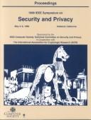 Cover of: Security and Privacy, 1998 IEEE Symposium