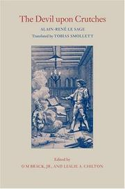 Cover of: The Devil Upon Crutches (Smollett, Tobias George//Works of Tobias Smollett)