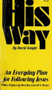 Cover of: His Way: An Everyday Plan for Following Jesus