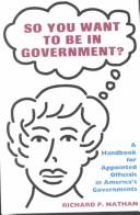 Cover of: Handbook for the Governing Class