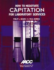 Cover of: How to Negotiate Capitation for Laboratory Services