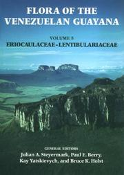 Cover of: Flora of the Venezuelan Guayana, Volume 5,