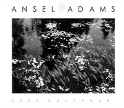 Cover of: Ansel Adams 2003 Engagement Calendar
