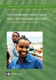 Cover of: The Link Between Health, Social Issues, and Secondary Education
