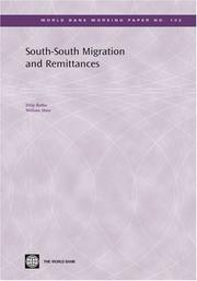 Cover of: South-south Migration and Remittances (World Bank Working Papers) (World Bank Working Papers)