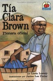 Cover of: Tia Clara Brown/aunt Clara Brown