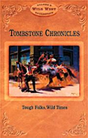 Cover of: Tombstone Chronicles