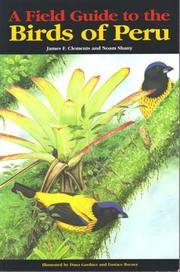 Cover of: Field Guide to the Birds of Peru