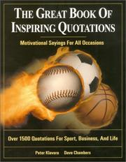 Cover of: The Great Book of Inspiring Quotations