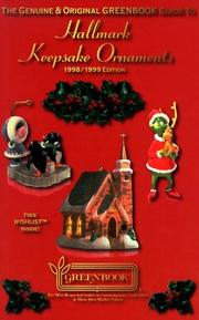 Cover of: The Genuine & Original GREENBOOK Guide To Hallmark Keepsake Ornaments