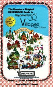 Cover of: The Genuine & Original GREENBOOK Guide to Department 56 Villages