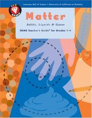 Cover of: Matter: Solids, Liquids, And Gases
