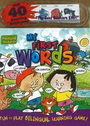 Cover of: My First Words Sticker Book (Bilingual Builders)