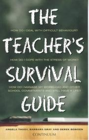 Cover of: The Teacher's Survival Guide