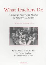 Cover of: What Teachers Do