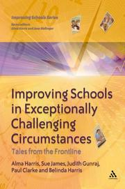 Cover of: Improving Schools in Exceptionally Challenging Contexts