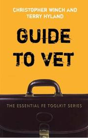 Cover of: Guide to Vocational Education and Training (Essential Fe Toolkit Series)