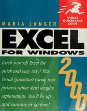 Cover of: Excel 2000 for Windows