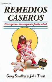 Cover of: Remedios Caseros