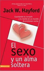 Cover of: El Sexo y una alma soltera/ Sex and an Unmarried Soul